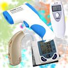 วัดอุณหภูมิร่างกาย , วัดความดัน , วัดชีพจร , วัดความดันโลหิต,เครื่องวัดแอลกอฮอล์