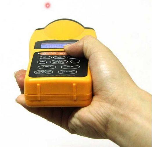 เครื่องมือวัดระยะ ตลับเมตรดิจิตอล