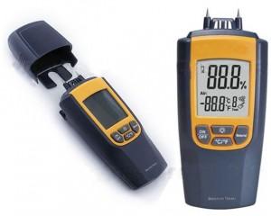 MM05-2 in 1 moisture and temperature meter มิเตอร์วัดความชื้นวัสดุ 7 ประเภท 0~95.7 รุ่น VA8040
