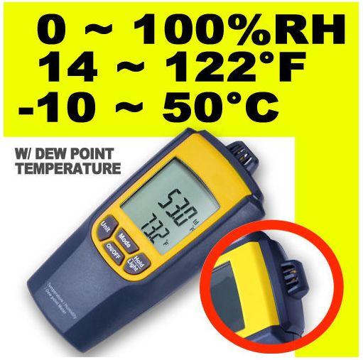เครื่องวัดความชื้นสัมพัทธ์
