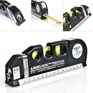 Fixit Laser Level Pro 3 เครื่องวัดระดับน้ำเลเซอร์ พร้อมตลับเมตร
