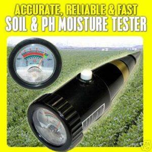 เครื่องวัดกรดด่าง pH ความชื้นดิน