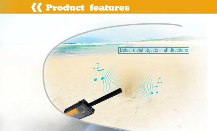 MD05 - เครื่องตรวจจับโลหะ TS66A Handheld metal detector Waterproof